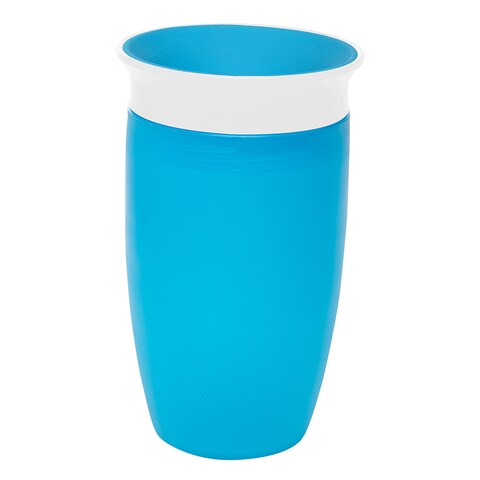 Munchkin Blue Miracle 360 10-ounce Sippy Cup