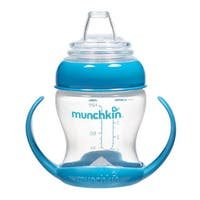 Munchkin Blue Flexi-Transition 4-ounce Trainer Cup