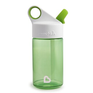 Munchkin Green 12-ounce Sports Reusable Water Bottle