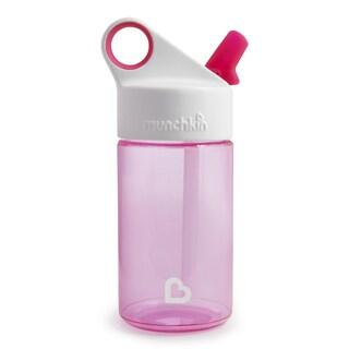 Munchkin Pink 12-ounce Sports Reusable Water Bottle