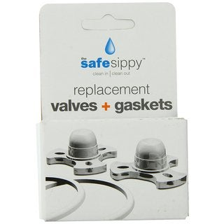 Kid Basix The Safe Sippy Replacement Valves and Gaskets (Pack of 2)