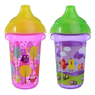 Munchkin Owls and Birds Click Lock Decorated 9-ounce Sippy Cup (Set of 2)