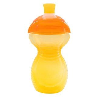 Munchkin Yellow Plastic 9-ounce Click Lock Bite-proof Sippy Cup
