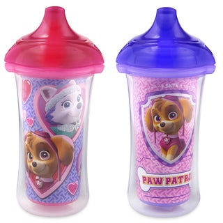 Munchkin Paw Patrol Pink/Purple 9-ounce Click Lock Insulated Sippy Cups (Set of 2)