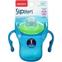 Playtex Sipsters Stage 1 Soft Spout Green/Blue 6-ounce Cup