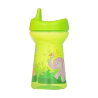 Evenflo Zoo Friends Triple Flo Green 10-ounce Sippy Tumbler