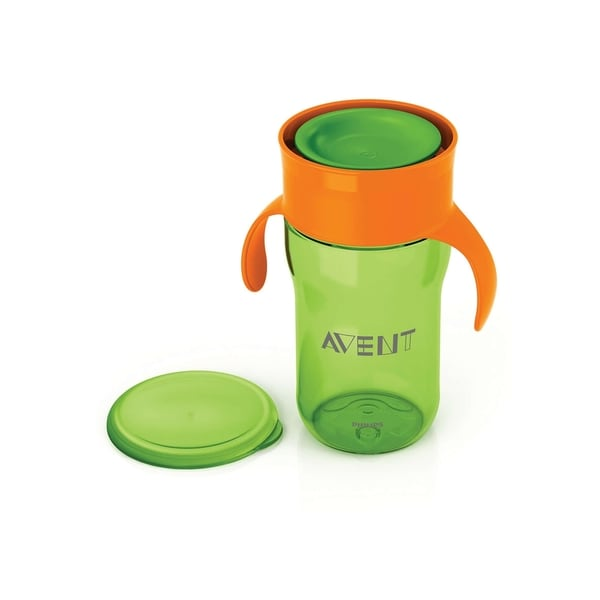 Philips Avent My Natural Green Plastic 12-ounce Drinking Cup