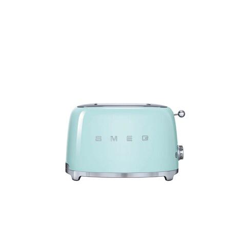 Smeg 50s-style Pastel Green 2-slice Toaster