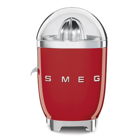 Smeg 1950s-style Red Retro Citrus Juicer
