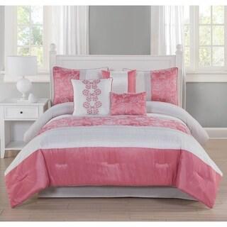 Studio 17 Blossom 7-Piece Comforter Set