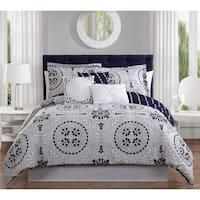 Studio 17 Bailey 7-Piece Reversible Comforter Set