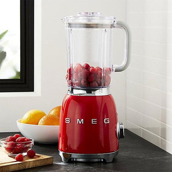 smeg red 50s style blender smeg red 50s style blender   free shipping today   overstock com      rh   overstock com
