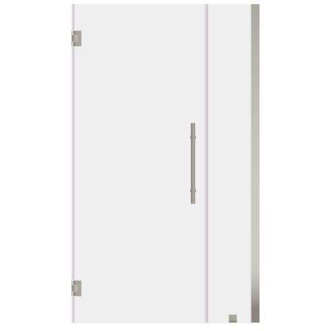 ULTRA-E Brushed Nickel 42-43 W x 72 H Swing-Out Shower Door