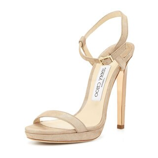 Jimmy Choo Claudette Nude Shimmery Pumps (4 options available)