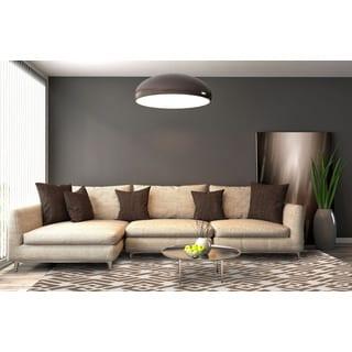 San Mateo Mocha Brown Multipurpose Indoor/Outdoor Rug (8'x11')