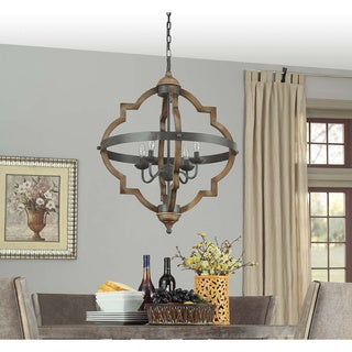 Mason Quatrefoil 4 Light Chandelier