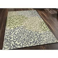 San Mateo Cream Multipurpose Indoor/Outdoor Rug (7'6 x 9'6) - 7'6 x 9'6