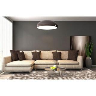 San Mateo Mocha Brown Multipurpose Indoor/Outdoor Rug (5' x 7'6)