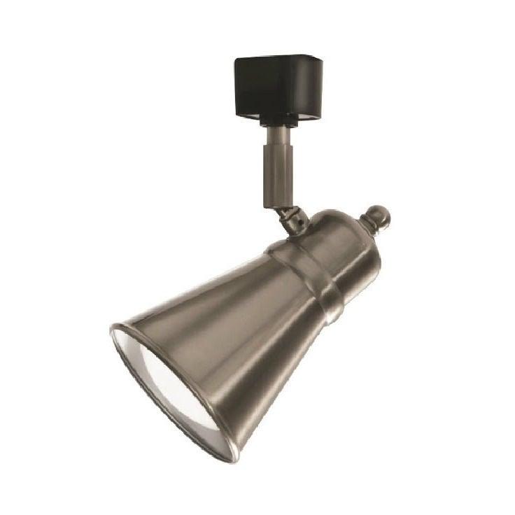 Lithonia Lighting BR20 LED Brushed Nickel Lamp Shade Trac...
