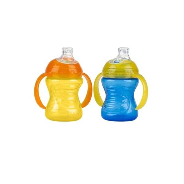 Shop Nuby Blue Orange 2 Handle 8 Ounce No Spill Super