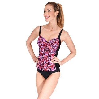 Ruched Twist Front Women's Tankini Top by Mazu Swim (5 options available)