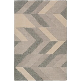 Hand-Tufted Ancren Wool Area Rug - 9' x 13'