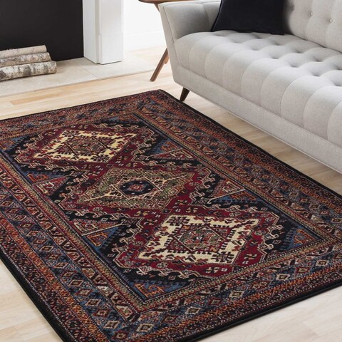"Copper Grove Denison Polypropylene Multicolor Area Rug - 9'3"" x 12'6"""