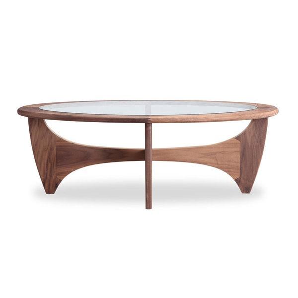Shop Kardiel Mid-Century Modern G-plan Walnut Coffee Table