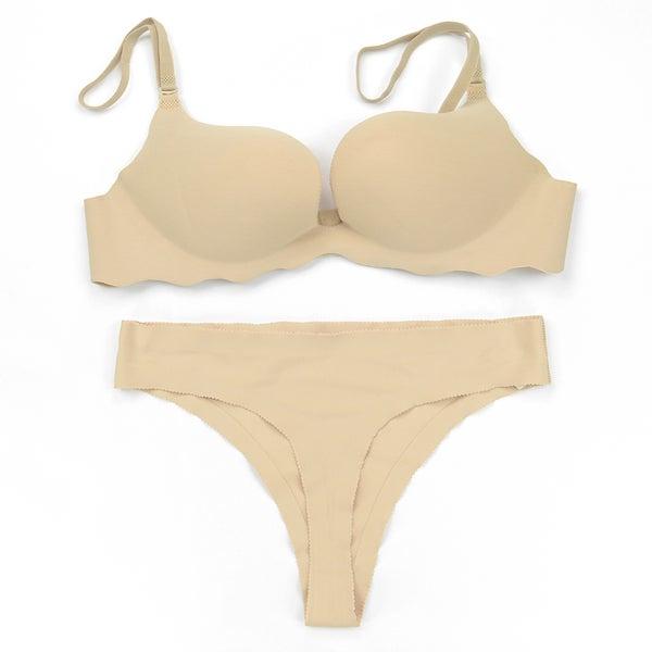 8a9a75447a Donna di Capri Women  x27 s Seamless Microfiber Convertible U-plunge Bra and