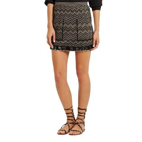 Missoni Black Chevron Mini Skirt