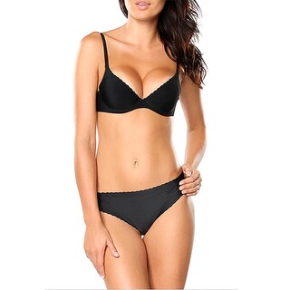 Donna di Capri Seamless Microfiber Demi Bra and Thong Set (More options available)