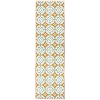 Glendale multi pattern/geometric Runner Area Rug (2'3 x 7'7)