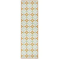 Glendale multi pattern/geometric Runner Area Rug (2'3 x 7'7)