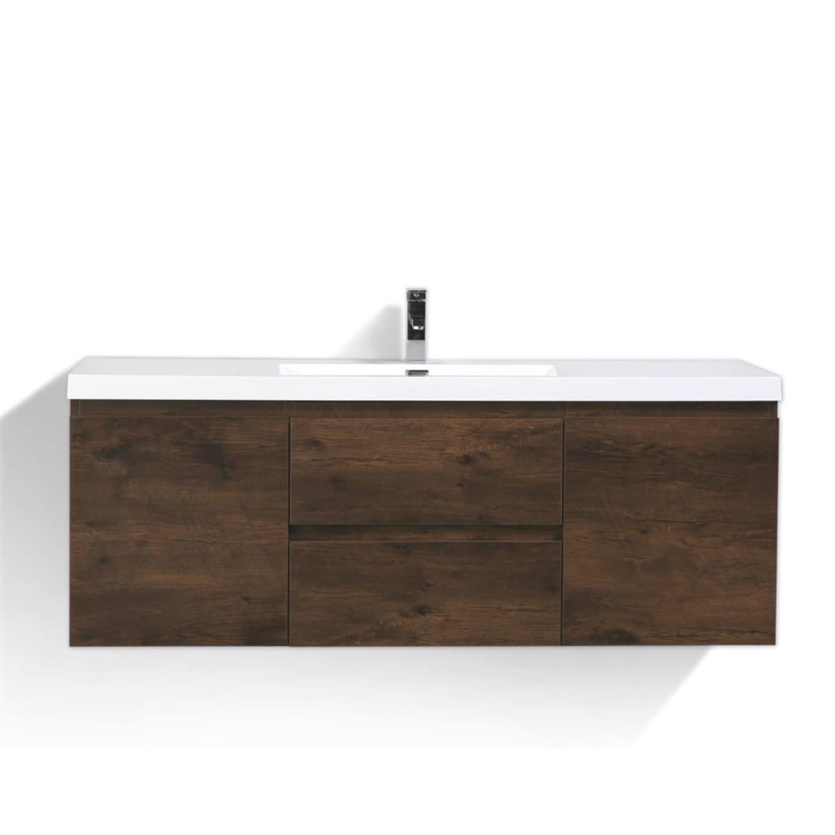 bathroom vanities wall mounted. Moreno MOB 60-inch Single Sink Wall Mounted Modern Bathroom Vanity With Reinforced Acrylic Vanities