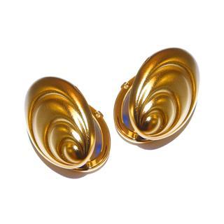 Rucci Mussel Matte Gold Compact Mirror