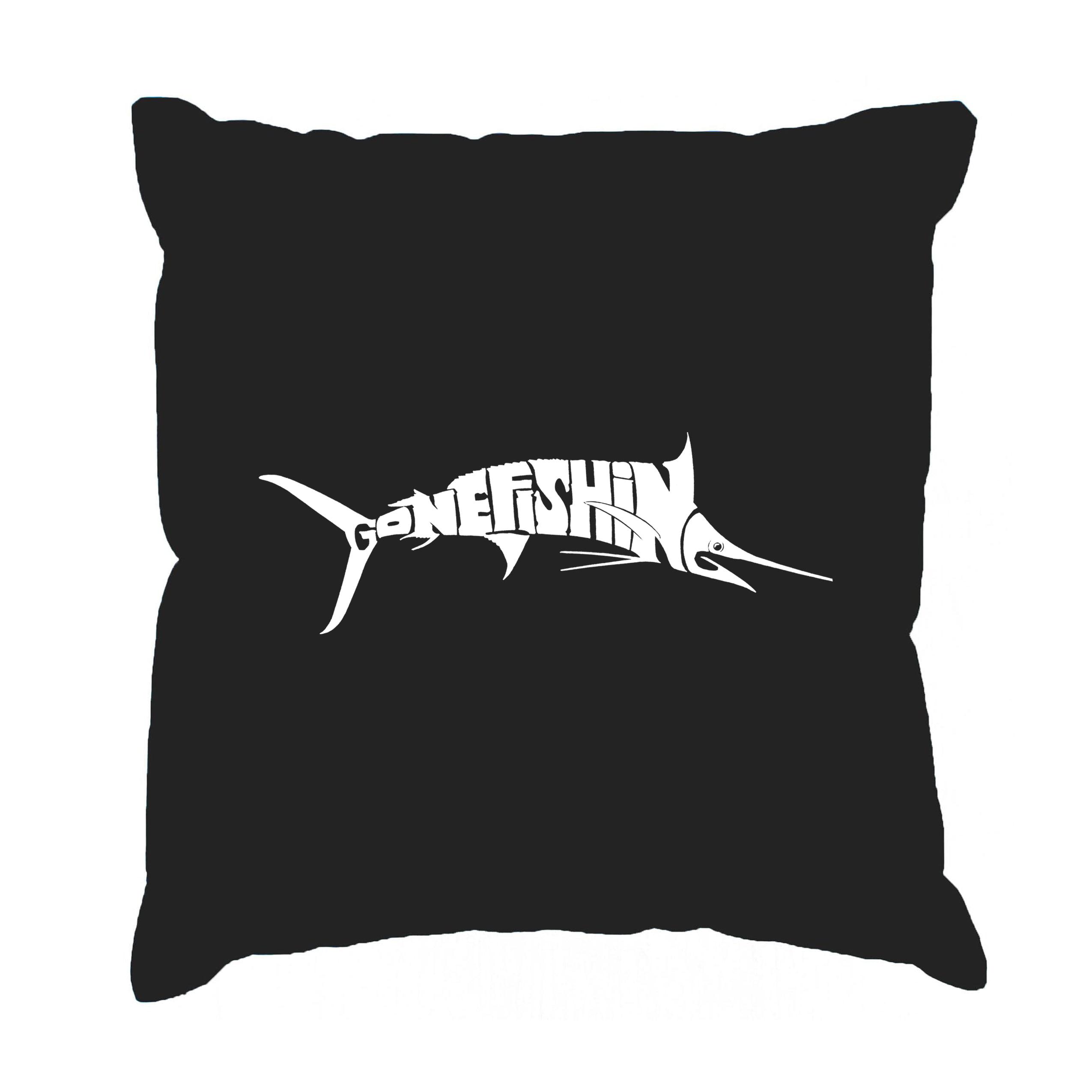 Los Angeles Pop Art LA Pop Art Marlin Gone Fishing 17-inc...