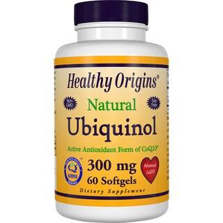 Healthy Origins Ubiquinol 300 mg (60 Softgels)