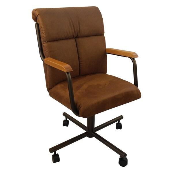 Shop Caster Chair Company C96 Crystal Swivel Tilt Caster