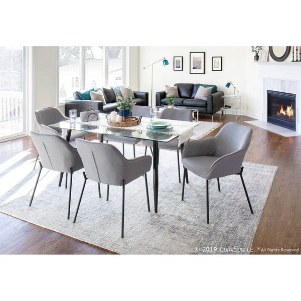 Pleasant Shop Lumisource Clara 59 Mid Century Modern Dining Table Ncnpc Chair Design For Home Ncnpcorg