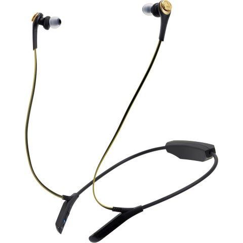 Audio-Technica ATH-CKS550BT Solid Bass Wireless In-Ear Headphones wit