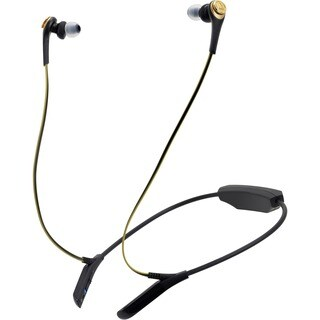 Audio-Technica ATH-CKS550BT Solid Bass Wireless In-Ear Headphones wit