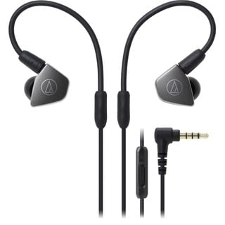 Audio-Technica ATH-LS70iS In-Ear Headphones with In-line Mic & Control - Thumbnail 0