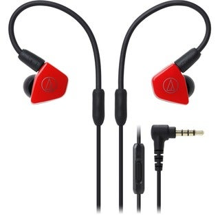 Audio-Technica ATH-LS50iS In-Ear Headphones with In-line Mic & Contro