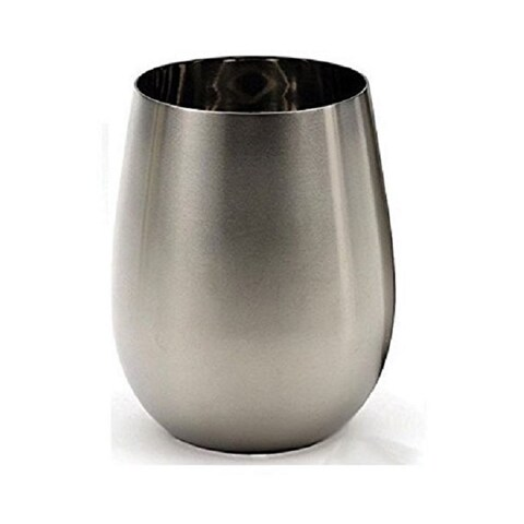 RSVP Endurance Stainless Steel Stemless Wine Glass