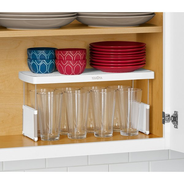 Youcopia More Height Adjule Kitchen Cabinet Shelf Organizer 17 Inch