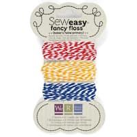 Sew Easy Baker's Twine 8.7yd 3/Pkg-Primary