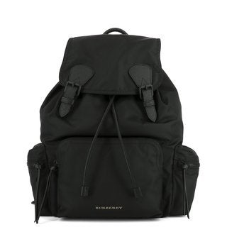 Burberry Black Nylon Medium Rucksack Fashion Backpack