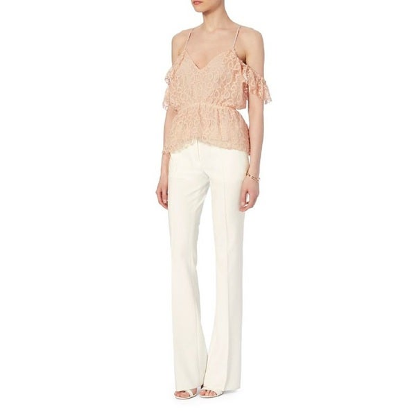 Designers Remex Avelaine Pink Lace Top