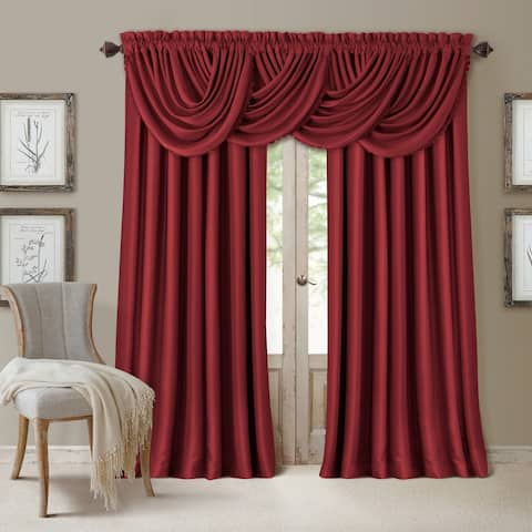 All Seasons Waterfall Window Valance