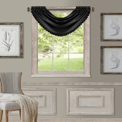 "All Seasons Waterfall Window Valance - 52""x36"""